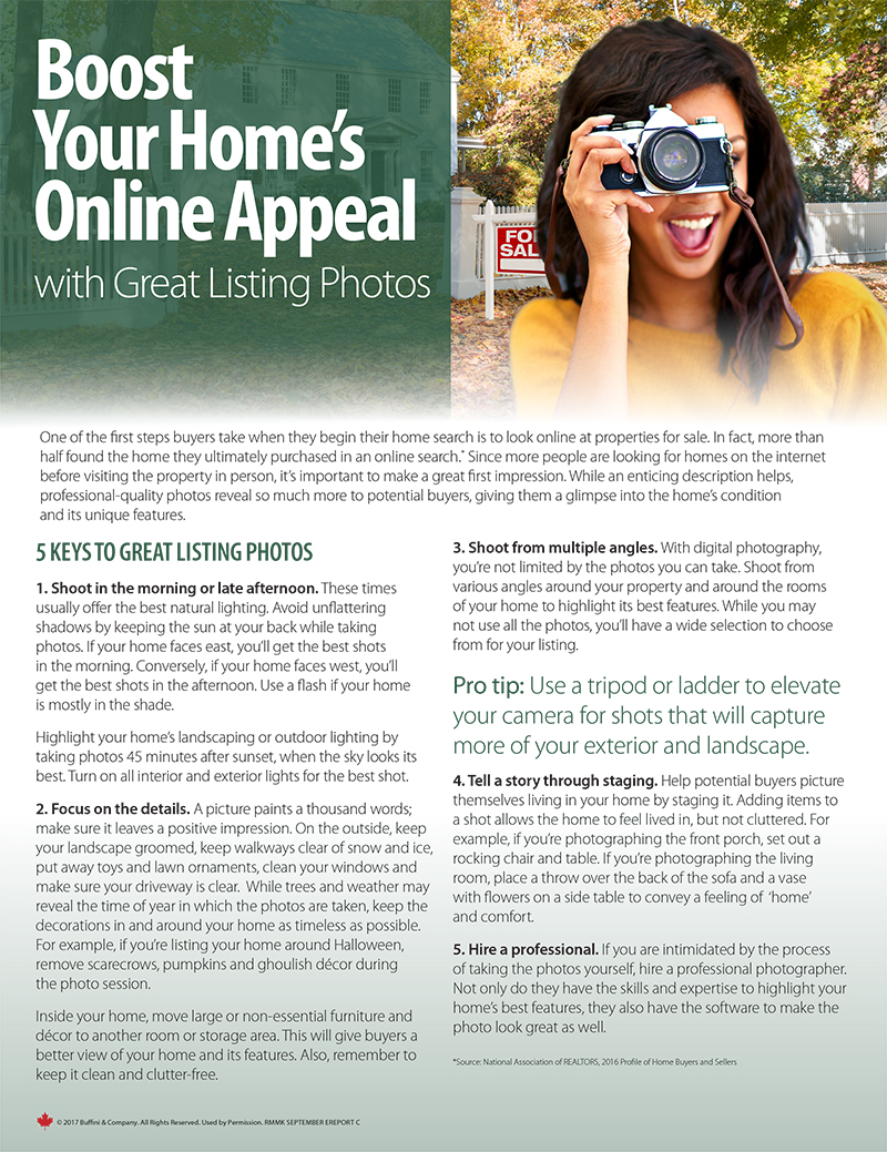 Boost Your Home's Online Appeal