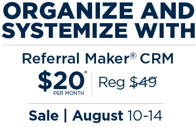 Referral Maker CRM Sale